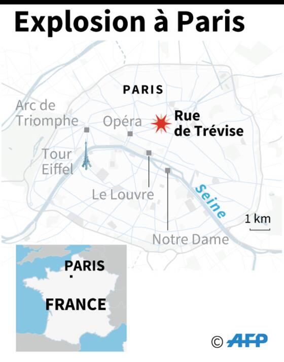 Explosion A Paris 4 Morts Apres La Decouverte D Une Femme Dans Les