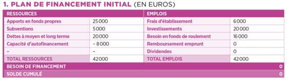 Tableaux Financiers Pour Business Plan Capital Fr