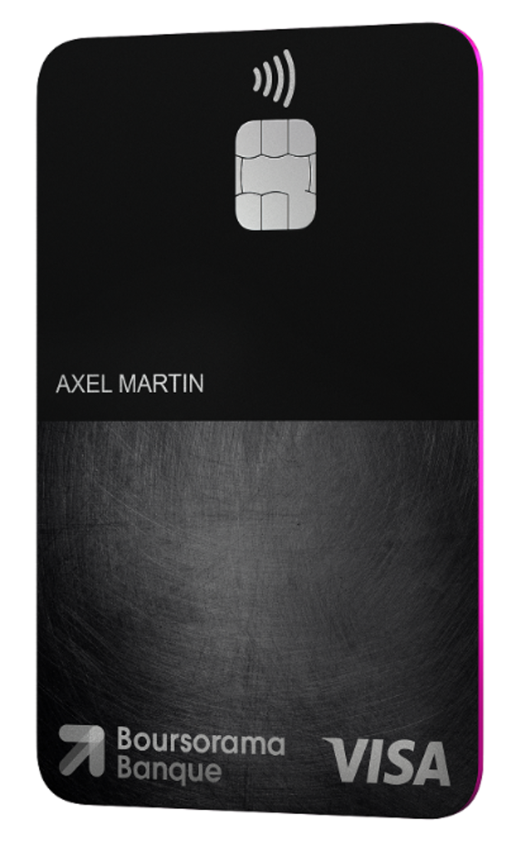Carte Bancaire Black Gratuite.Boursorama Lance La Premiere Carte Visa Premium Totalement