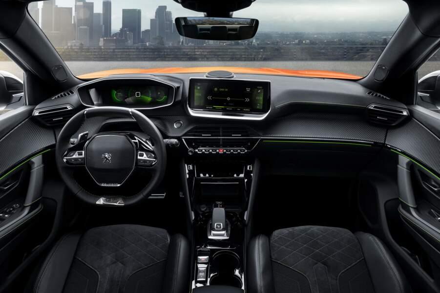 Un habitacle inspiré de la Peugeot 208
