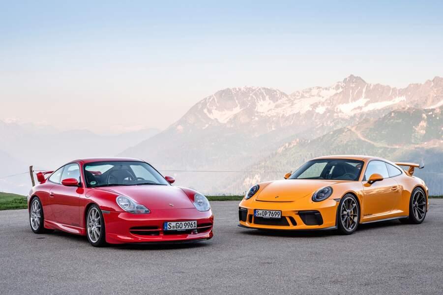 La Porsche 911 GT3 fête ses 20 ans en 2019