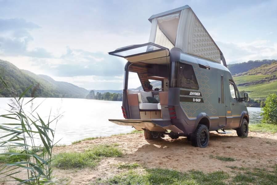 Hymer dévoile sa vision du camping-car du futur