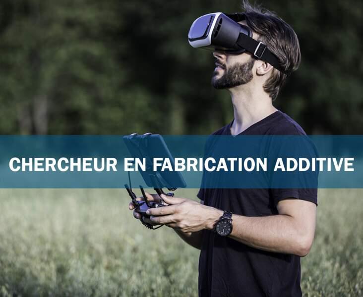 Chercheur en fabrication additive : l'imprimeur 3D