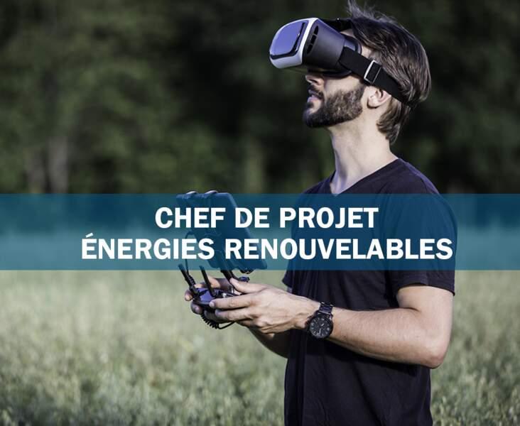 Chef de projet énergies renouvelables : l'artisan de la transition énergétique