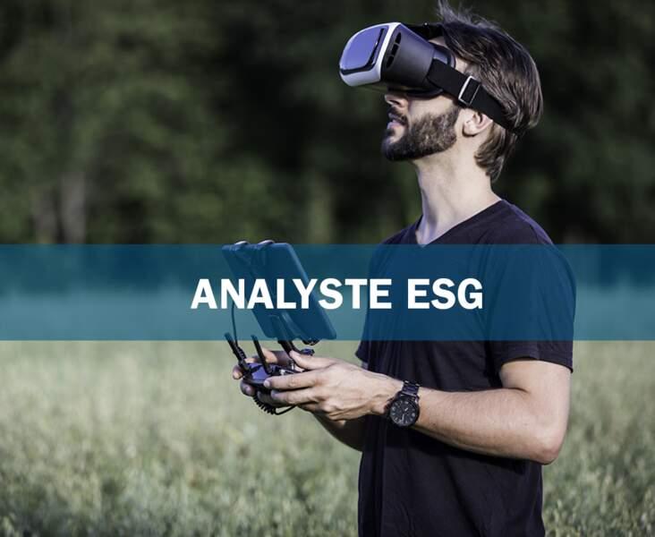 Analyste ESG : le courtier éthique