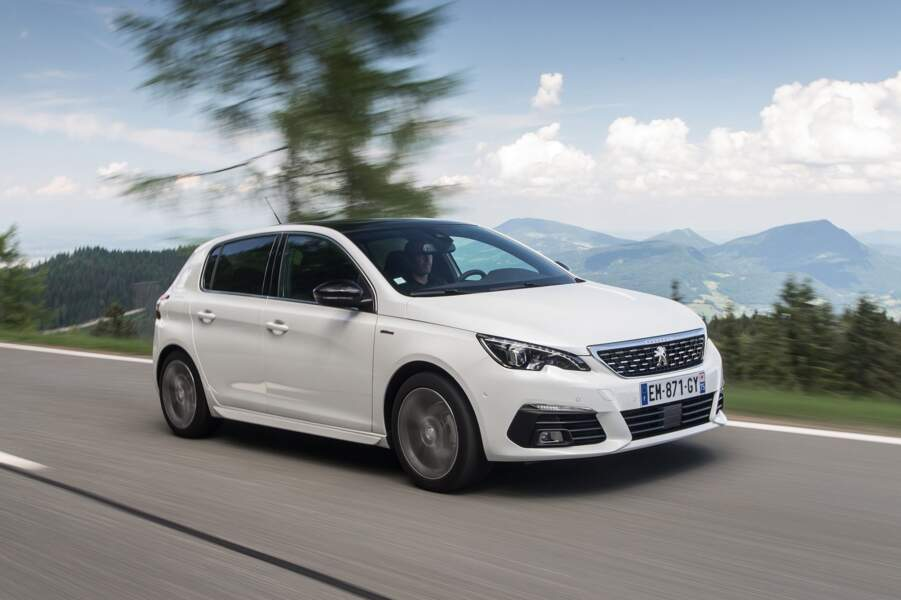 7 - Peugeot 308 (4.343 ventes)