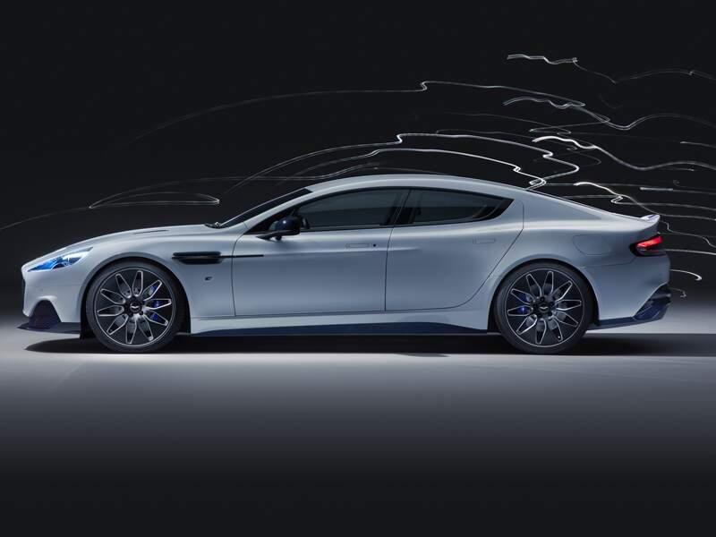 Aston-Martin Rapide E : classe et efficacité - 100 % électrique