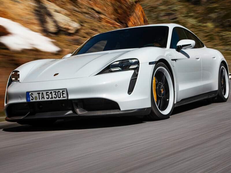 Porsche Taycan : une puissance impressionnante - 100 % électrique