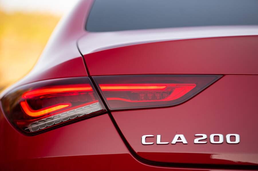Fiche technique Mercedes CLA 200 Coupé