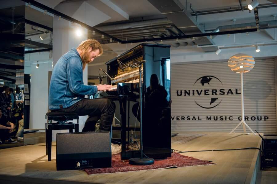 Universal Music, pôle édition musicale de Vivendi