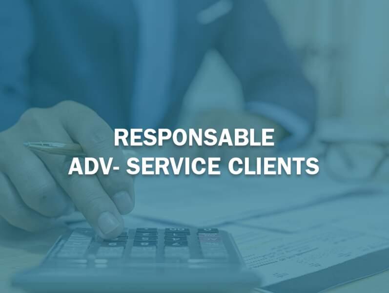 Responsable ADV-Service Clients