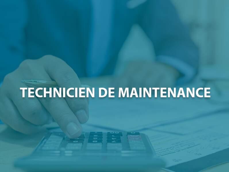 Technicien de maintenance