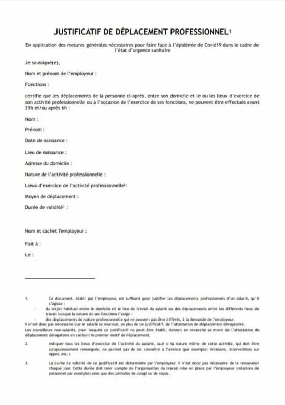 Attestation Couvre Feu 54 Nouveaux Departements Concernes Comment La Telecharger Capital Fr