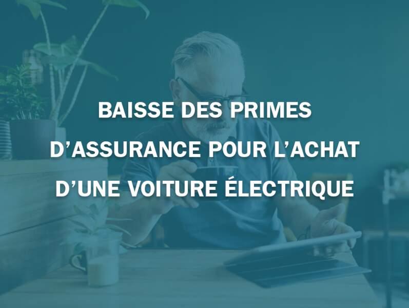 Baisse des primes d'assurance pour l'achat d'une voiture électrique