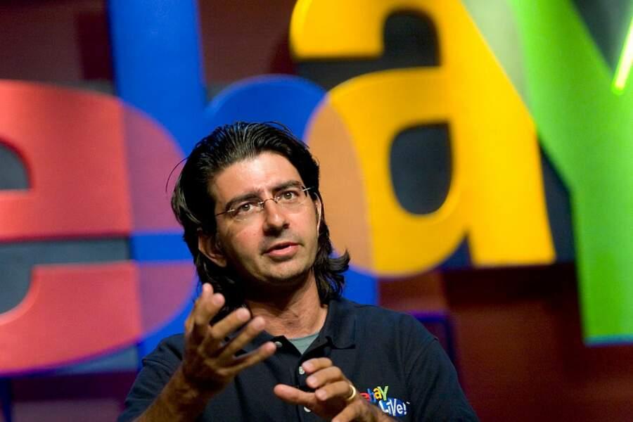 10. Pierre Omidyar (eBay, PayPal)