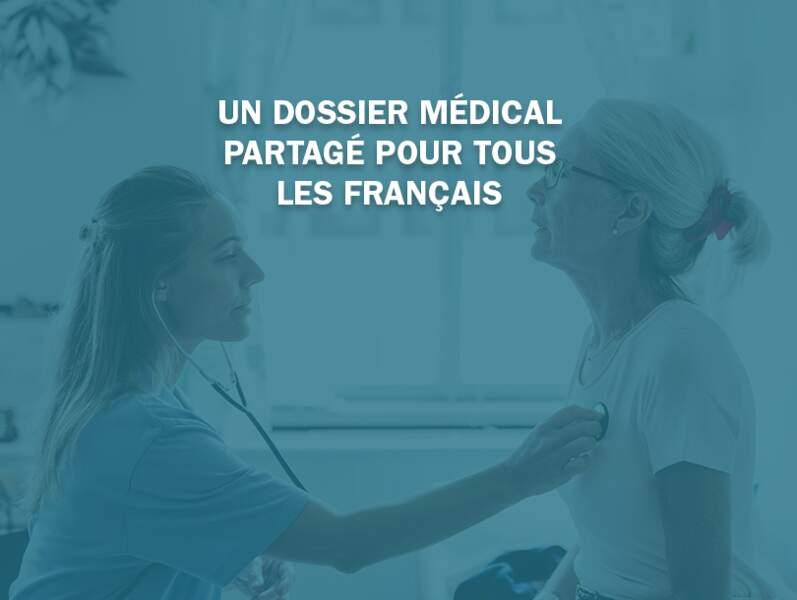 Un dossier médical partagé pour chaque Français