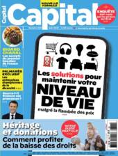 Couverture du dernier numéro de Capital