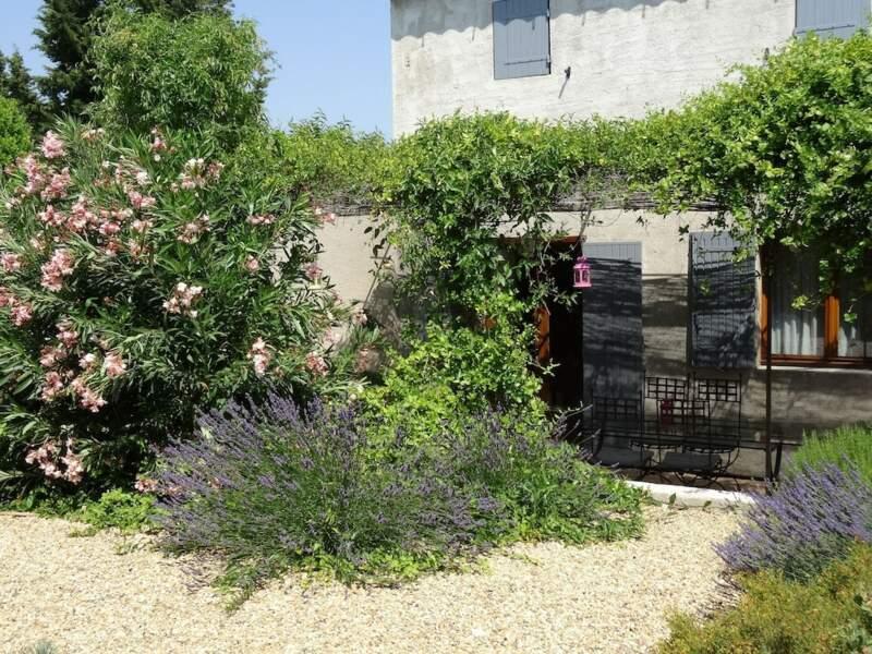 Une maison avec terrasse au coeur de la Provence