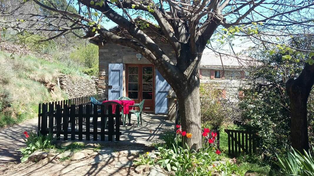 Une maison en pierre en Ardèche