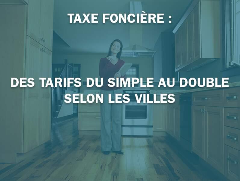 Taxe foncière : des tarifs du simple au double selon les villes