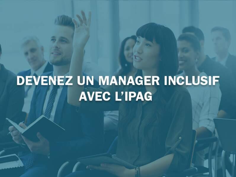 Devenez un manager inclusif avec l'IPAG