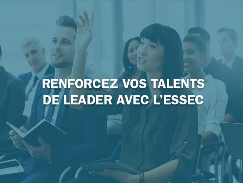 Renforcez vos talents de leader avec l'ESSEC