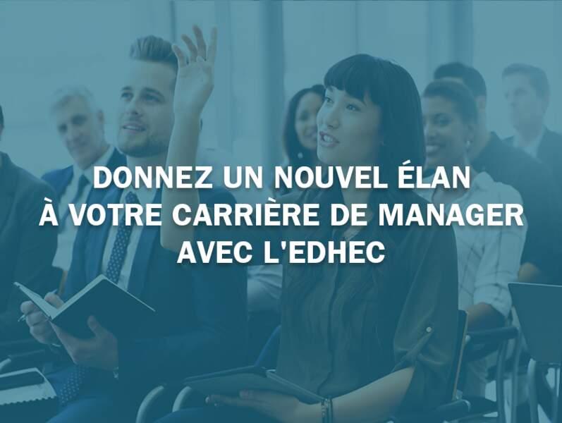 Donnez un nouvel élan à votre carrière de manager avec l'EDHEC