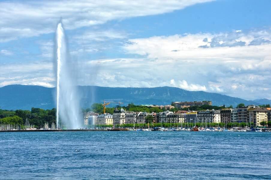 Deux jours au bord du lac Léman à Genève (Suisse)
