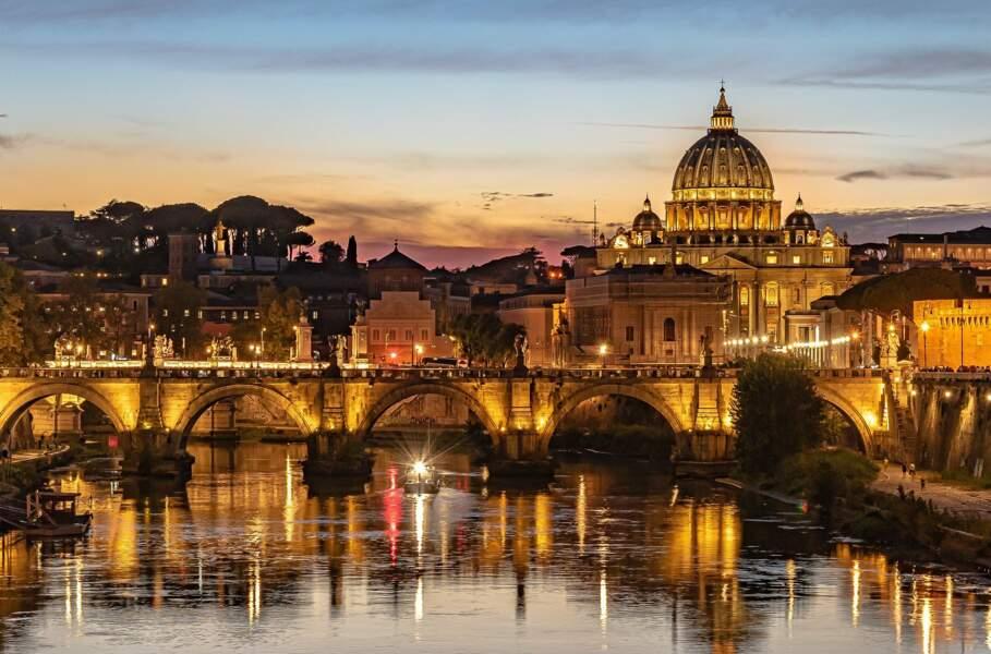 Une nuit dans un hôtel de luxe à Rome (Italie)