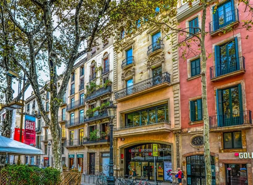 Un hôtel avec piscine à Barcelone près des Ramblas (Espagne)