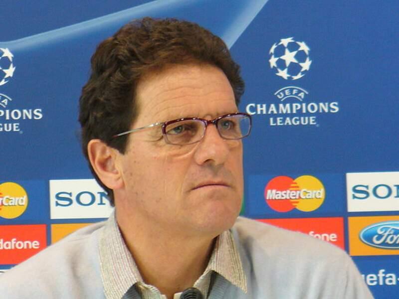 Fabio Capello, l'ancien entraîneur italien
