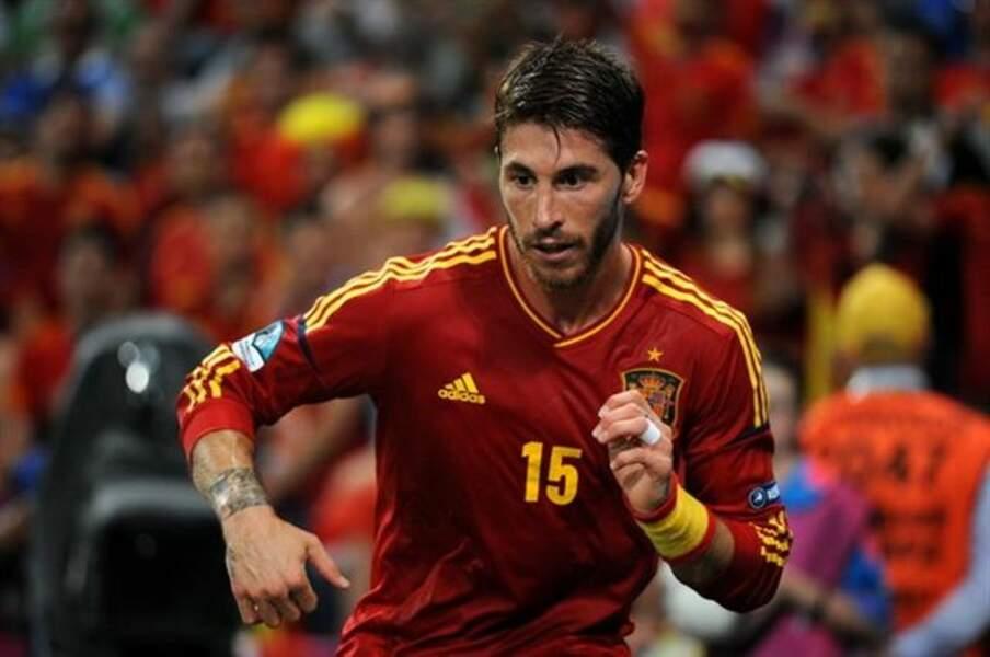 Sergio Ramos, l'ancien capitaine espagnol du Real Madrid