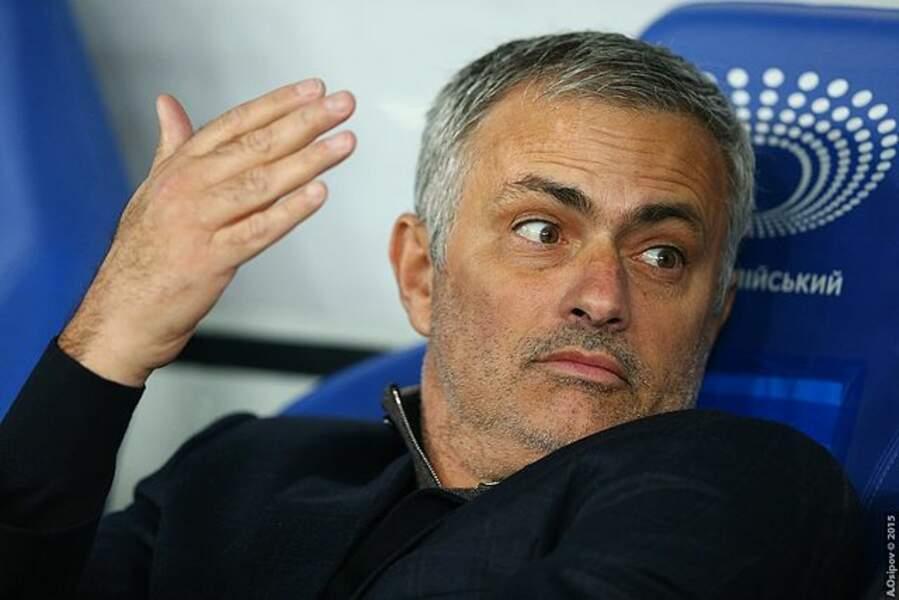 """""""The Special One"""" José Mourinho, entraîneur de l'AS Rome"""
