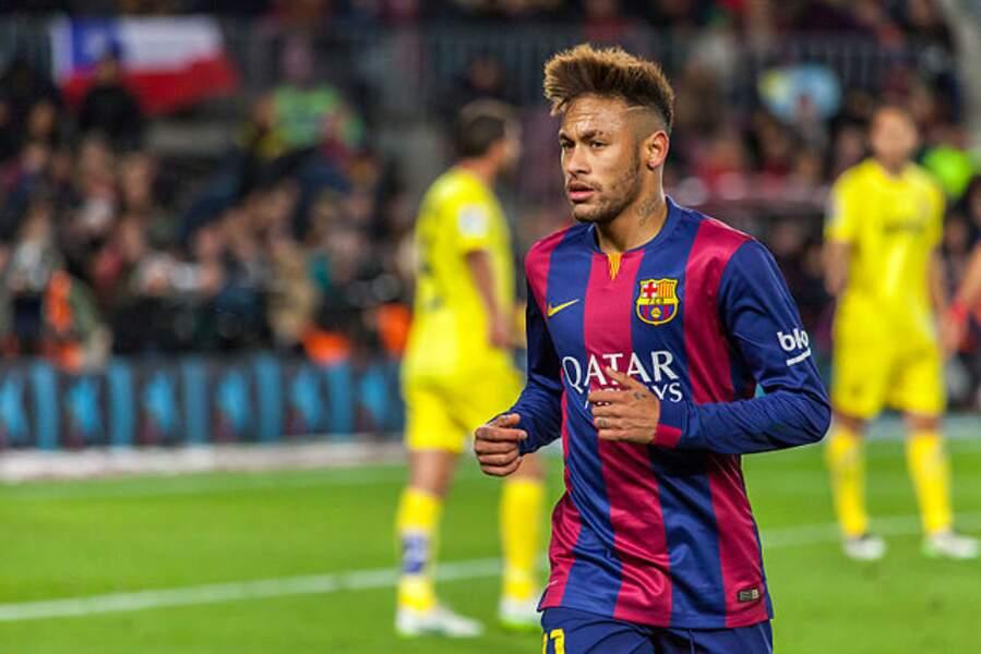 Neymar, l'attaquant brésilien du PSG
