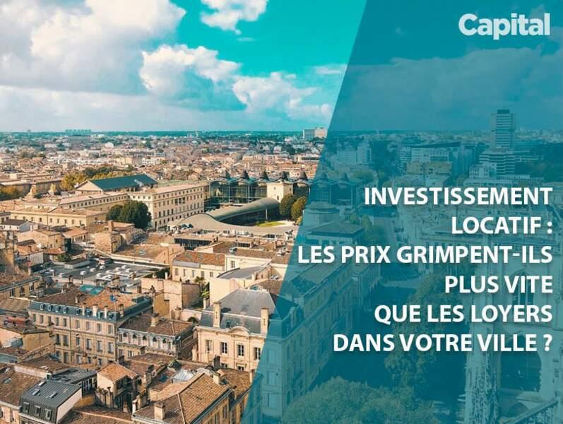 Investissement immobilier : les rendements locatifs grimpent-ils ou non dans votre ville ?