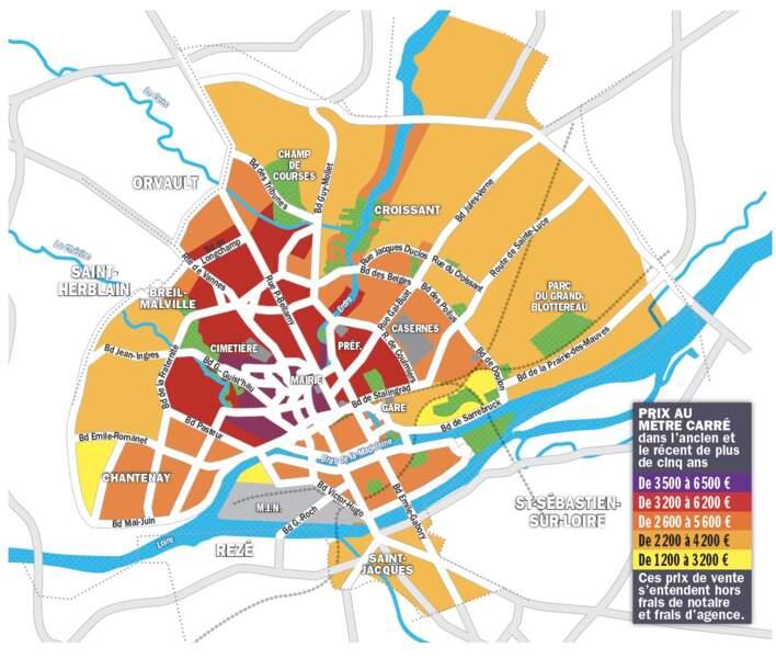 Nantes : des plus-values de 20 à 50% enregistrées en quelques années