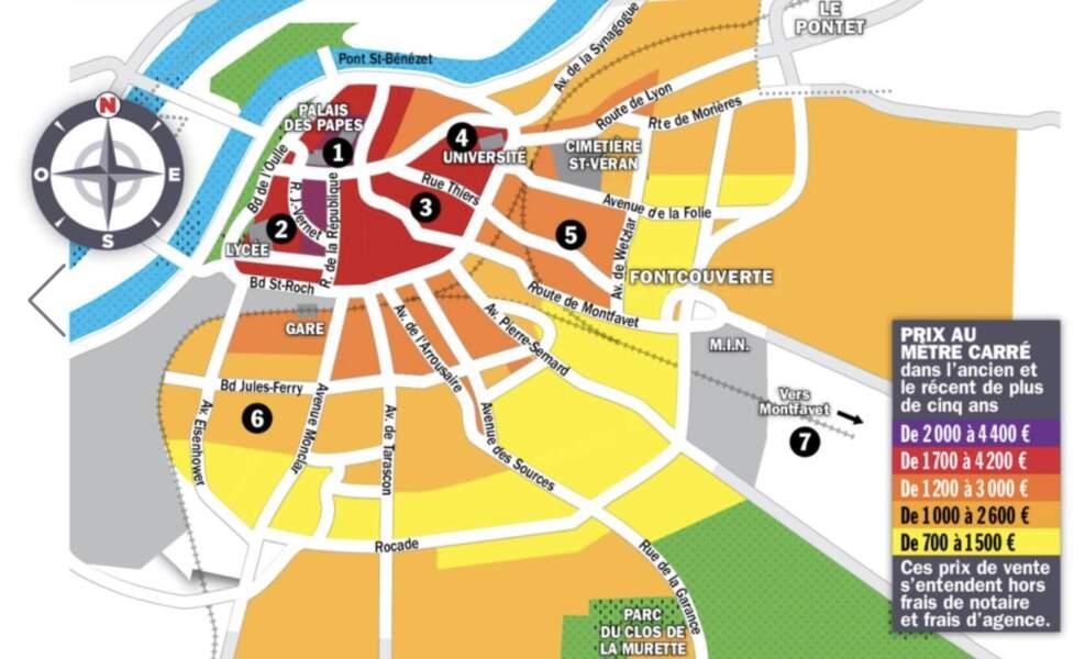 Avignon : les investisseurs visent les studios pour 70.000 euros en moyenne