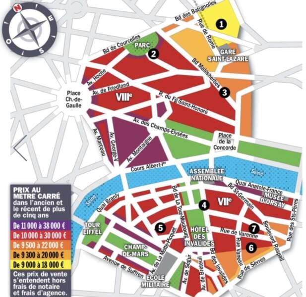 Paris VII et VIII : les grandes surfaces à nouveau prisées