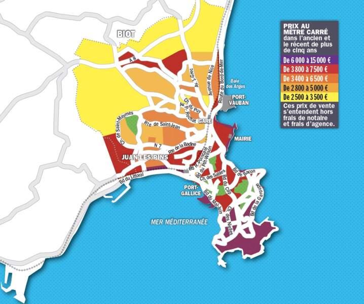 Antibes : près de 5% de rendement pour les bailleurs, même sans louer l'été