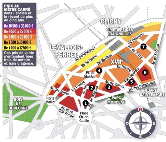 Paris XVII : à l'est des rails le rattrapage des tarifs ne ralentit pas