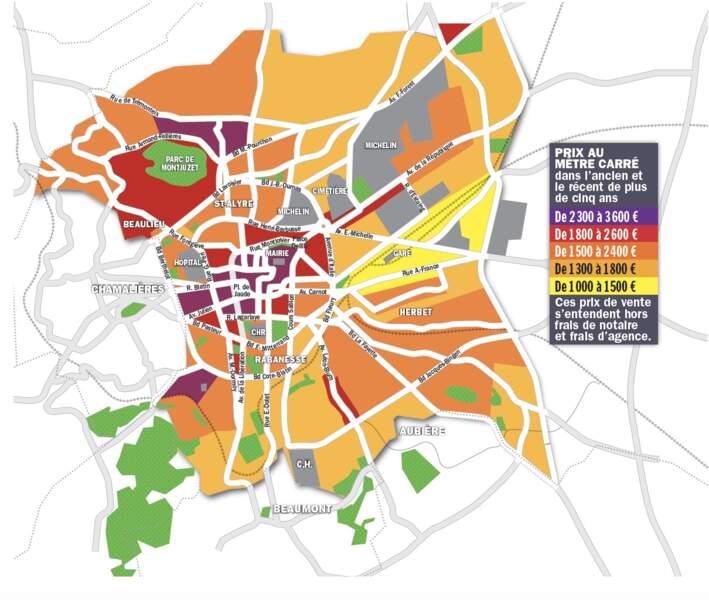Clermont-Ferrand : les délais de transaction ne dépassent pas un mois