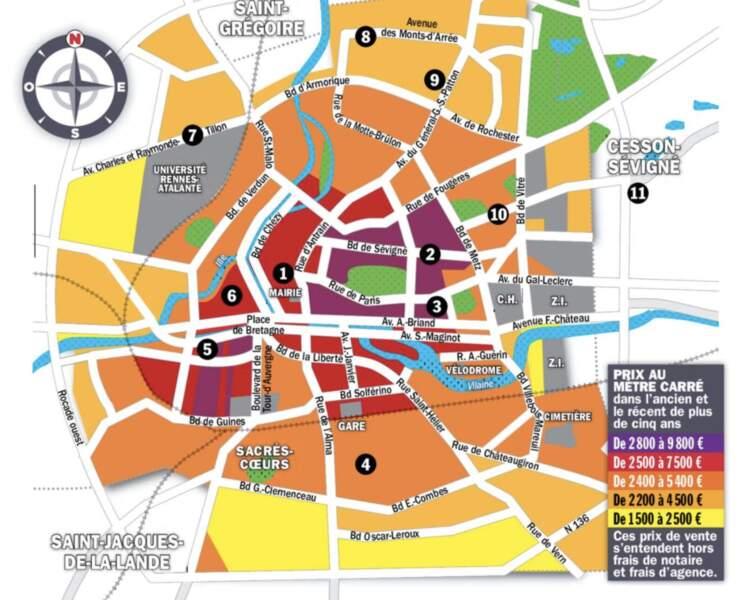 Rennes : quelques maisons à 450.000 euros le long de la future ligne de métro