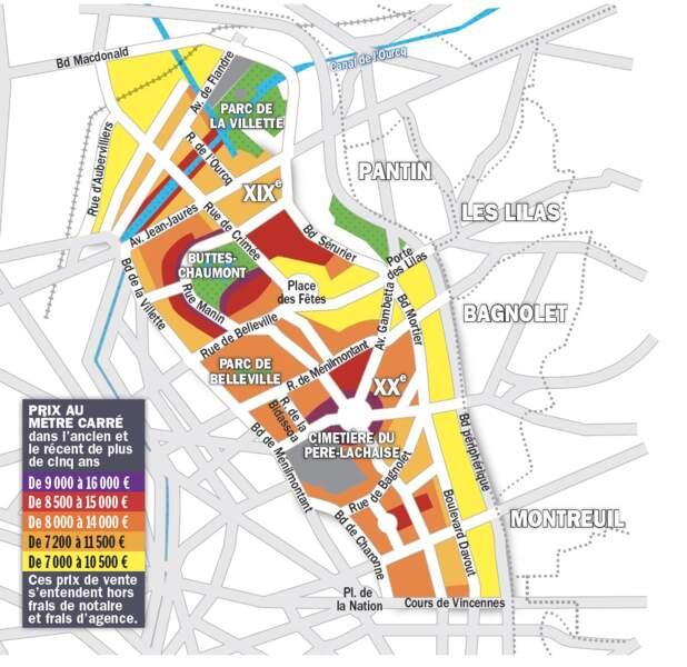 Paris XIX : afflux d'acquéreurs à la recherche d'une belle terrasse