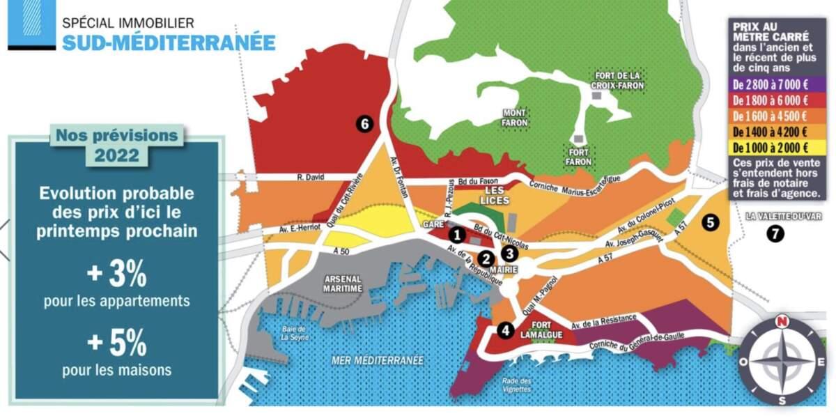 Toulon : un rez-de-chaussée avec jardin récemment cédé en seulement 3 heures