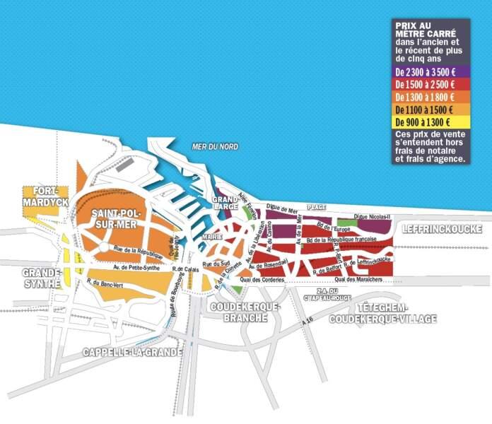 Dunkerque : le stock de logements disponible a été divisé par trois