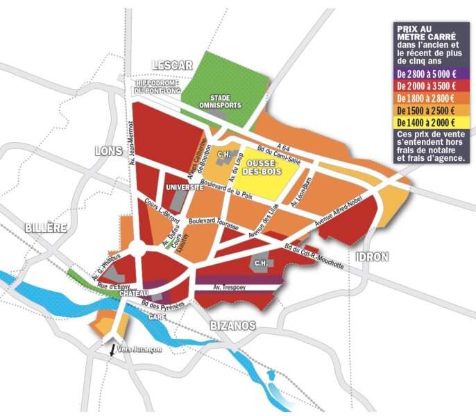 Pau : certains logements suscitent 3 à 4 offres simultanées