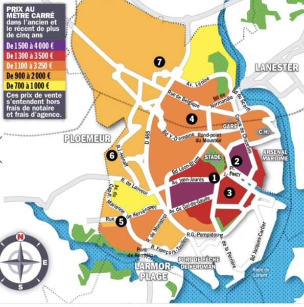Lorient : le délai de vente n'excède pas un mois