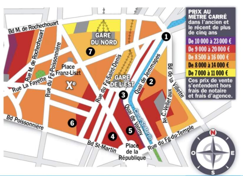 Paris X : gains probables pour les biens avec deux chambres