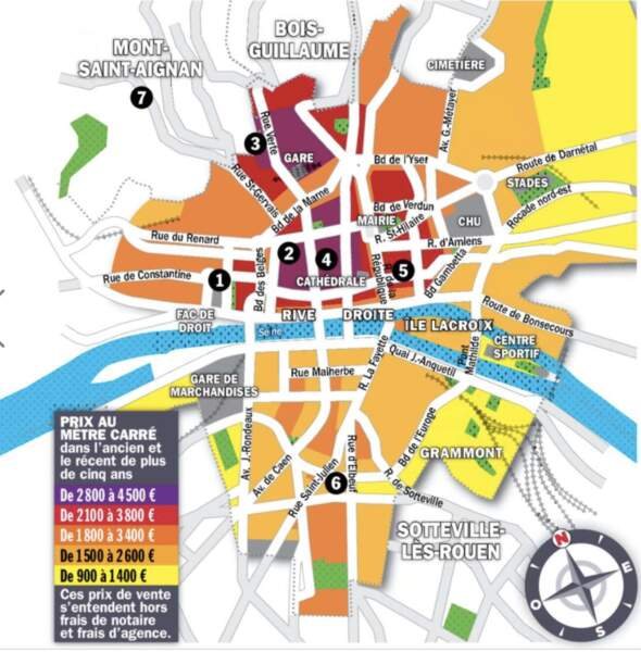 Rouen : la rive droite séduit les télétravailleurs