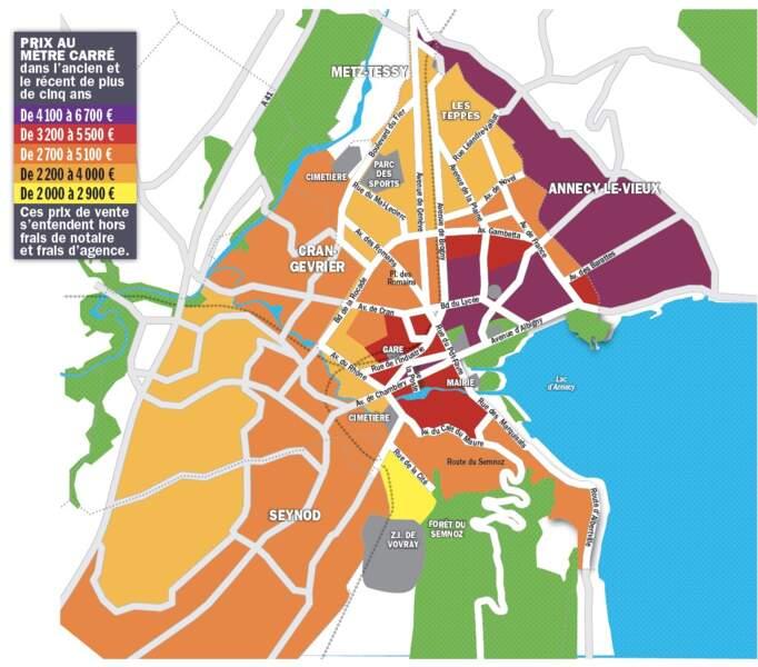 Annecy : les prix pourraient encore augmenter de 5% d'ici le printemps 2022